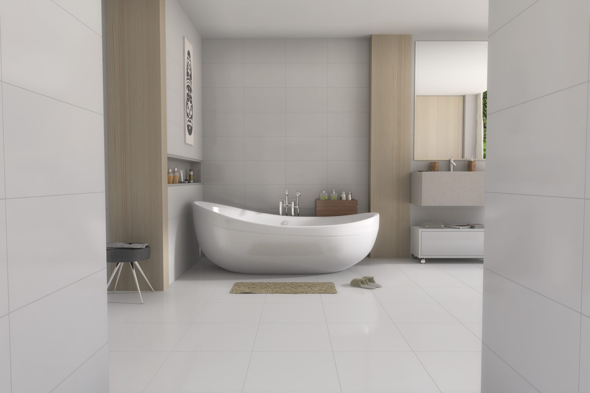 Porcelanato White Absolute 33x60cm