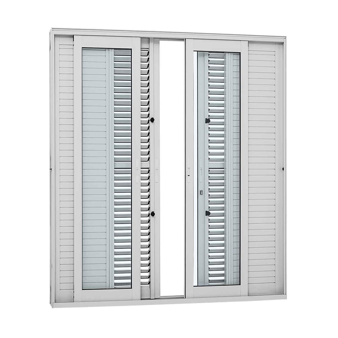 Porta Balcão de Correr Aluminium 6 Folhas 216 X 200 - INATIVO
