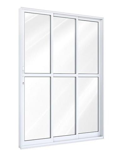 Porta De Correr 3 Folhas Direita Ideale 215x150