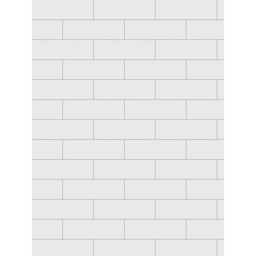 Revestimento Decora WH Matte 8x25cm Cx.0,53 m²