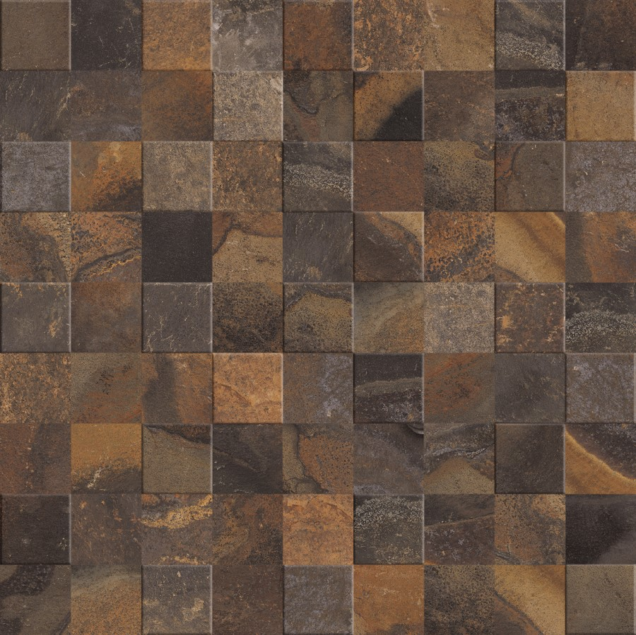 Revestimento Simetria Stone MIX MLX 60x60cm Cx.1,70m²