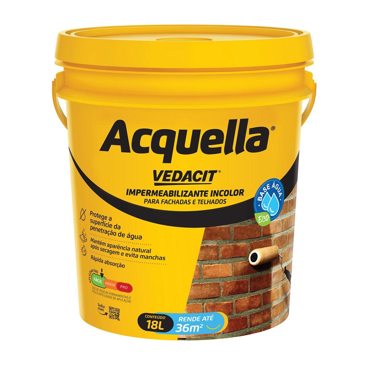 Silicone Acquella 18L Incolor