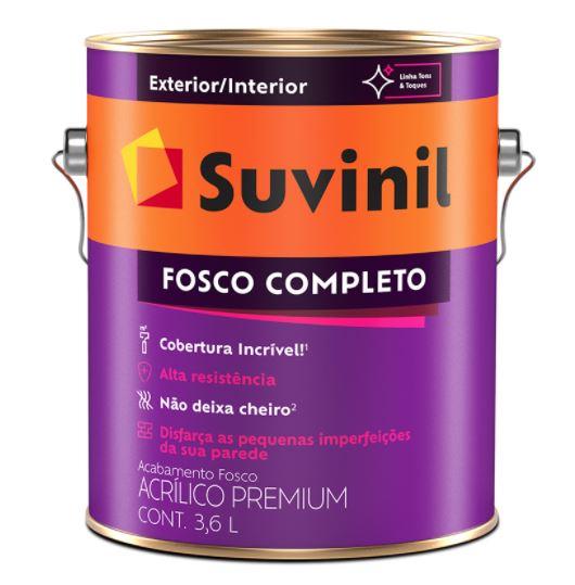 Tinta Acrílica Fosco Completo 3,6L