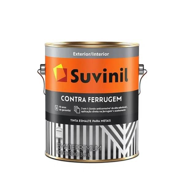 Tinta Esmalte Contra Ferrugem - 3,6L