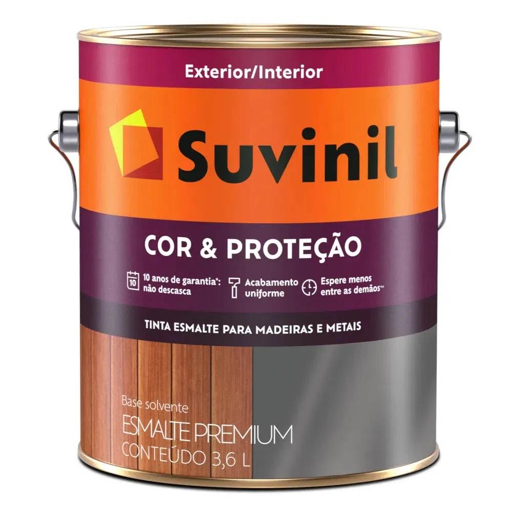 Tinta Esmalte Cor & Proteção Brilhante 3,6l - Branco