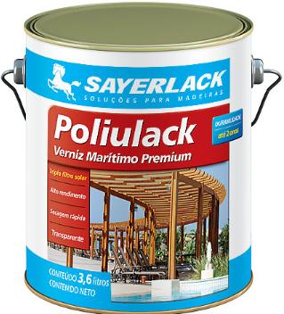 Verniz Acetinado Poliulack 3,6l