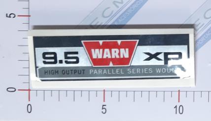Adesivo Ident. Guincho Warn 9.5XP Contract - 68568