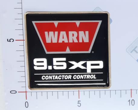 Adesivo Ident. Guincho Warn 9.5XP Identifier - 84330
