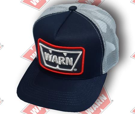 Boné Warn Azul com Cinza - W-BWAC