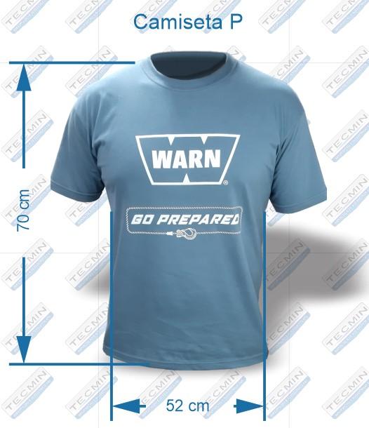 Camiseta Warn Cinza P - W-CWCP