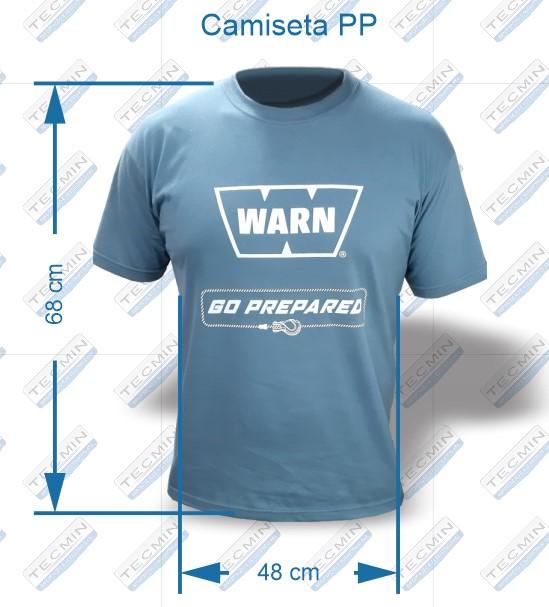 Camiseta Warn Cinza PP - W-CWCPP