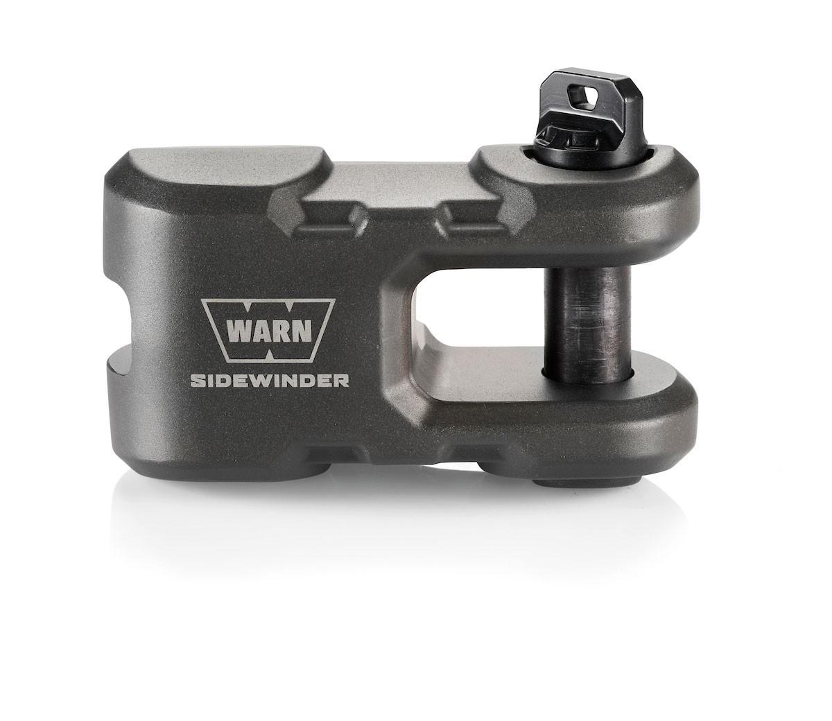 Gancho Para Guincho Warn Sidewinder cinza metálico - 100635