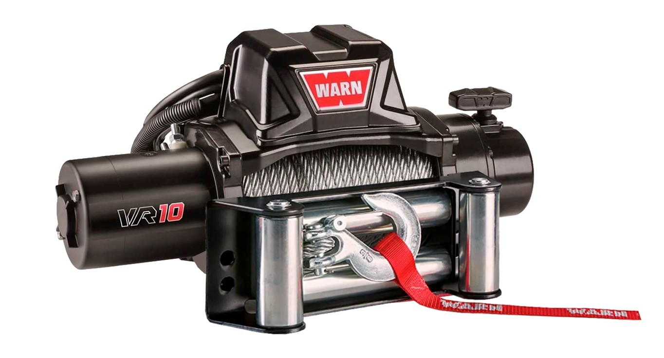 Guincho Warn VR10 com guia de rolete- 96810