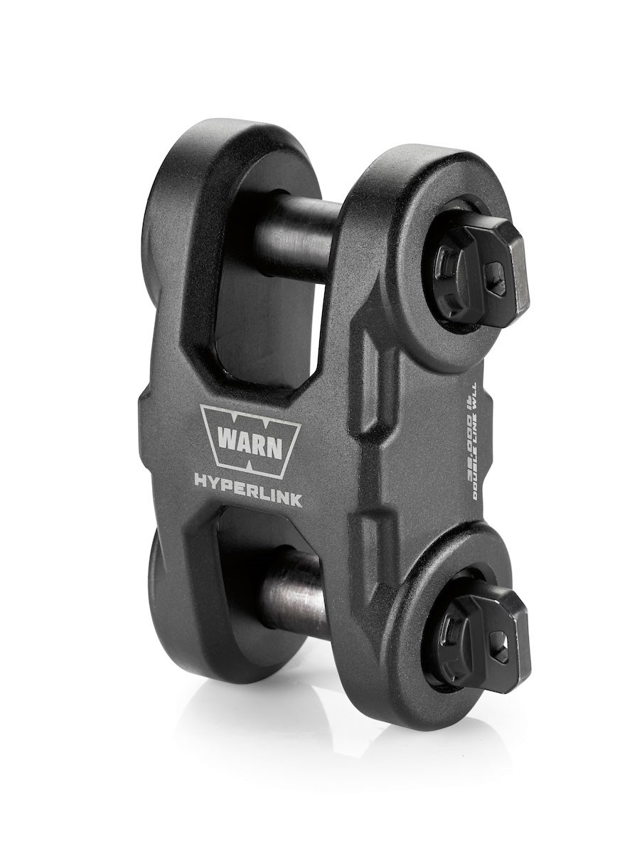 Manilha Para Guincho Warn Epic Hyperlink Black - 100630