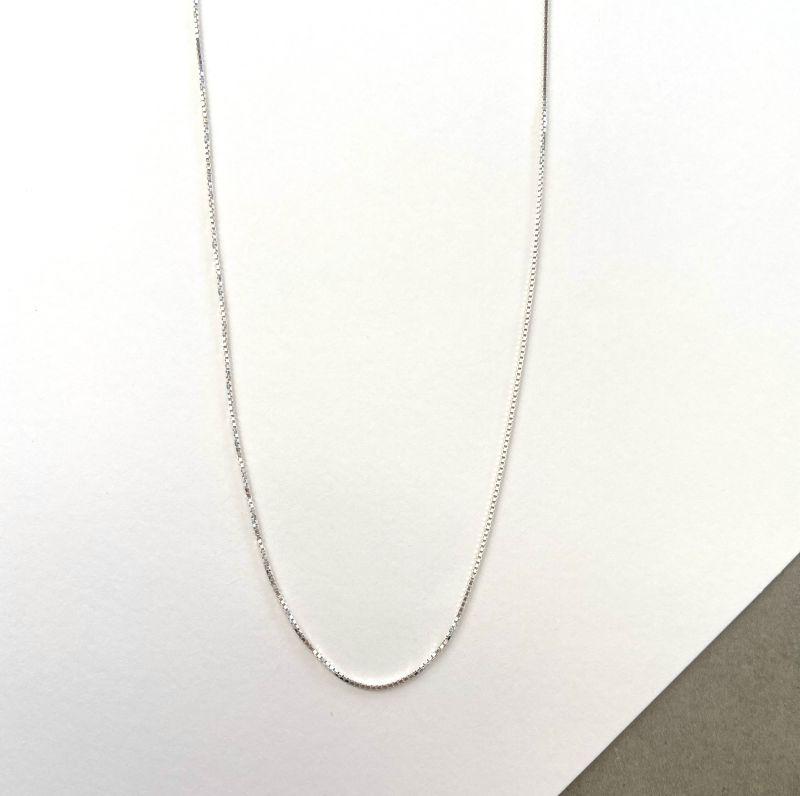 Corrente de prata - 45 cm