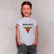 Camiseta Bon Jovi Branca