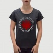 Camiseta Feminina Adulto RED HOT Preta