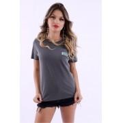 Camiseta Feminina Lisa Blur Stone