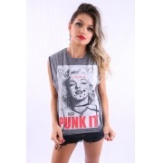 Camiseta Feminina Punk It