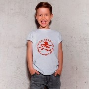 Camiseta Infantil Charlie Brown Jr Skate Vibration Branca