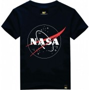 Camiseta Juvenil Nasa Azul Art