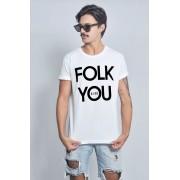 Camiseta Masculina Folk You