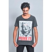 Camiseta Masculina Punk It