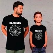 Kit Camisetas Pai e Filho Ramones