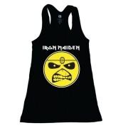 Vestido Infantil Iron Maiden Preto