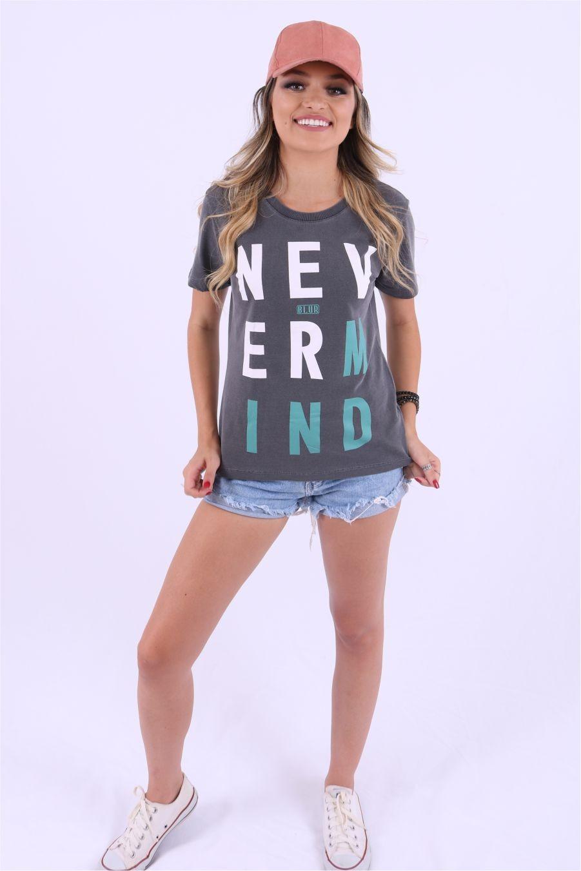 Blusa Feminina Nevermind Blur By Little Rock