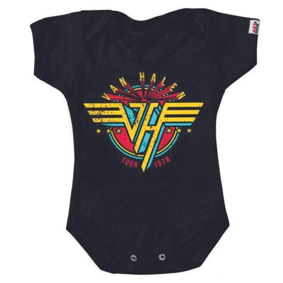 Bodie Van Halen Preto Art Rock