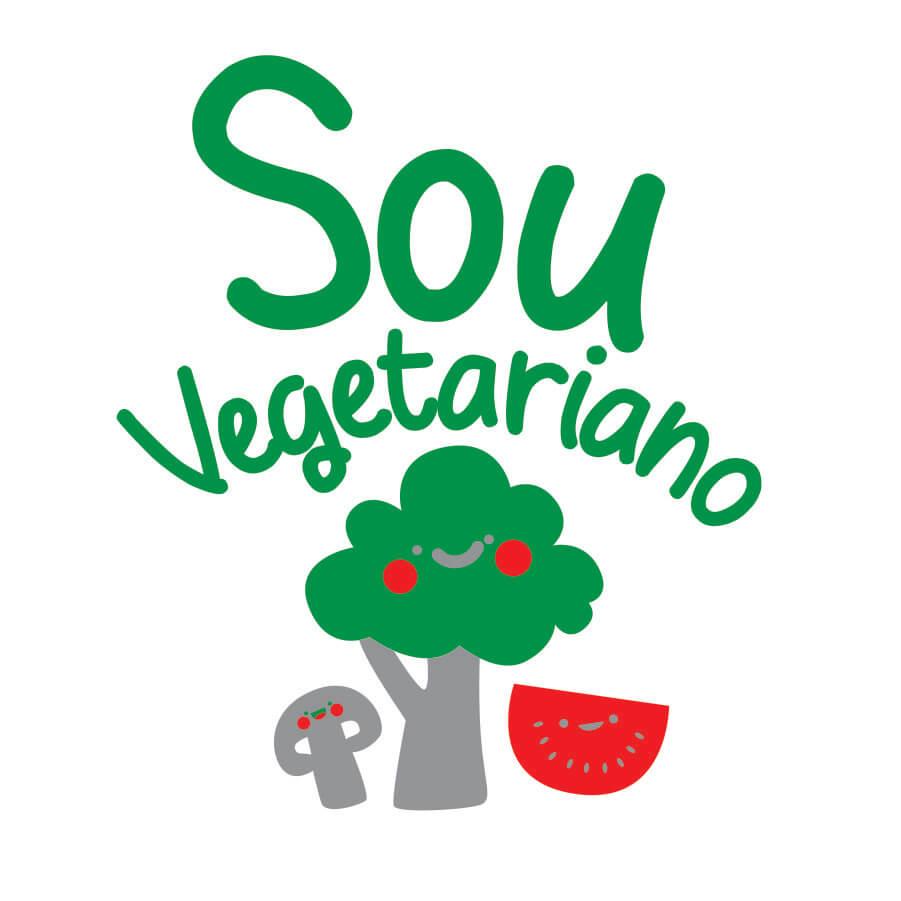 Body Bebe Sou Vegetariano