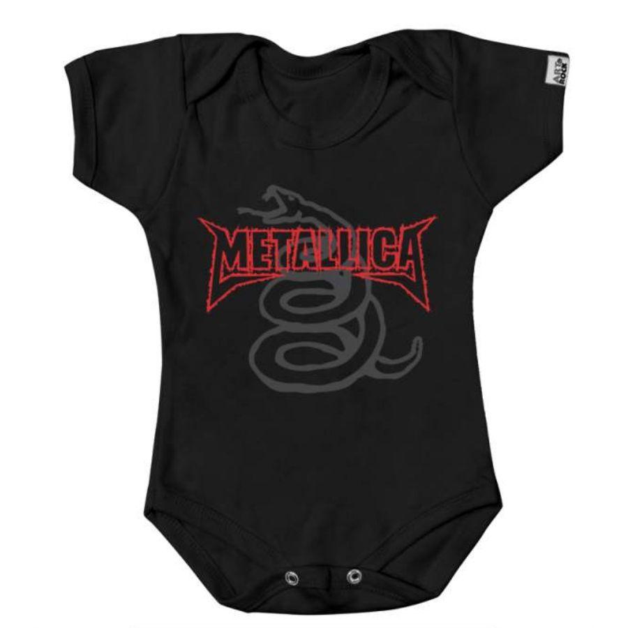 Body Manga Curta Metallica The Black Album (Art Rock)