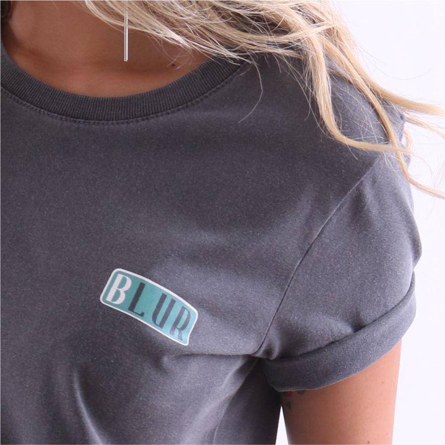 Camiseta Feminina Lisa Blur Stone by Little Rock