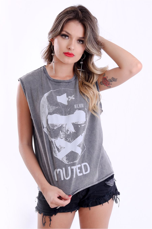 Camiseta Feminina Muted