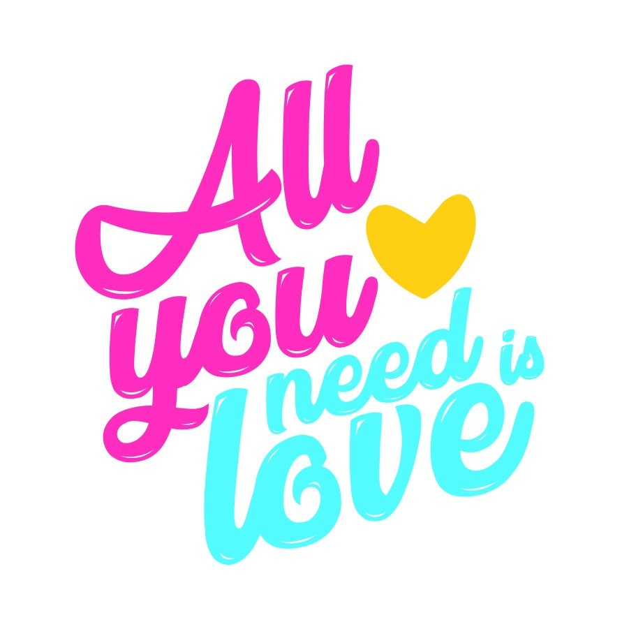Camiseta INFANTIL All You Need is Love