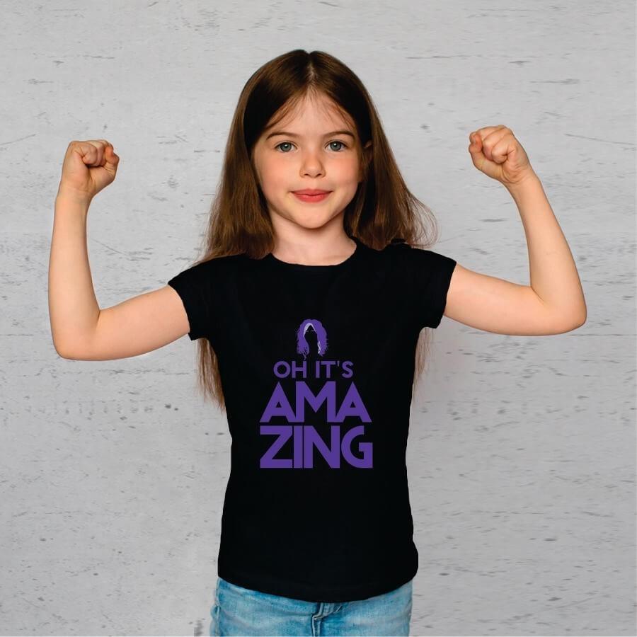 Camiseta INFANTIL Amazing Aerosmith