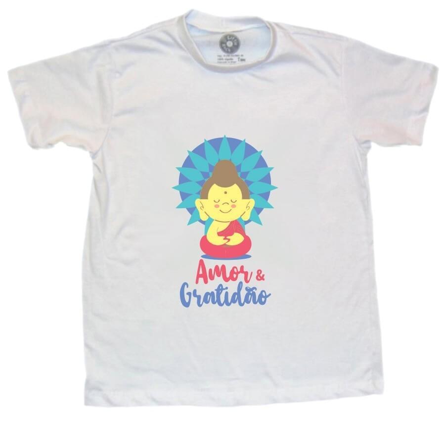 Camiseta INFANTIL Amor Gratidão