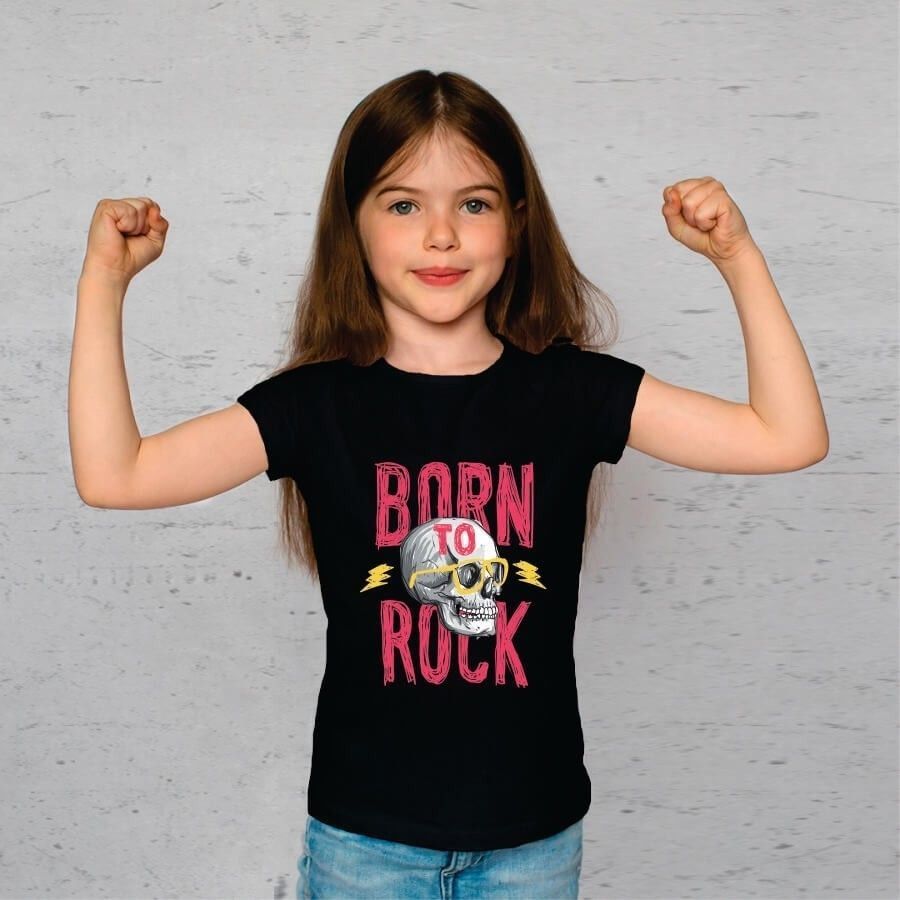 Camiseta INFANTIL Born To Rock