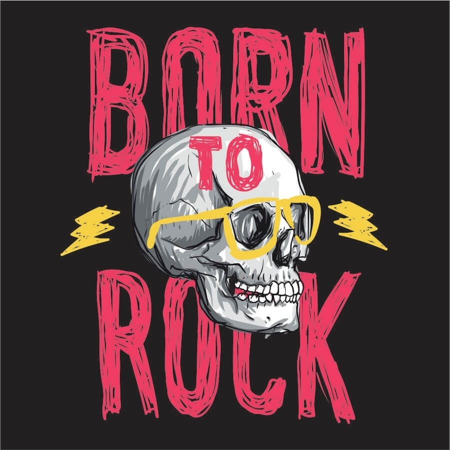 Camiseta INFANTIL Born To Rock