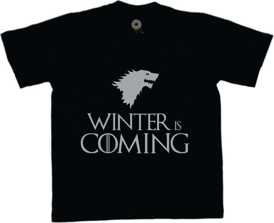 Camiseta INFANTIL Game Of Thrones - Winter is comming