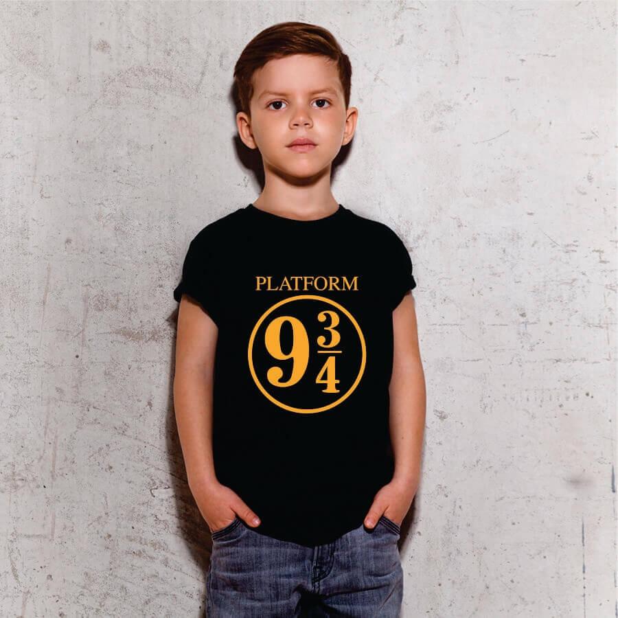 Camiseta INFANTIL Harry Potter Plataform 9 3 4