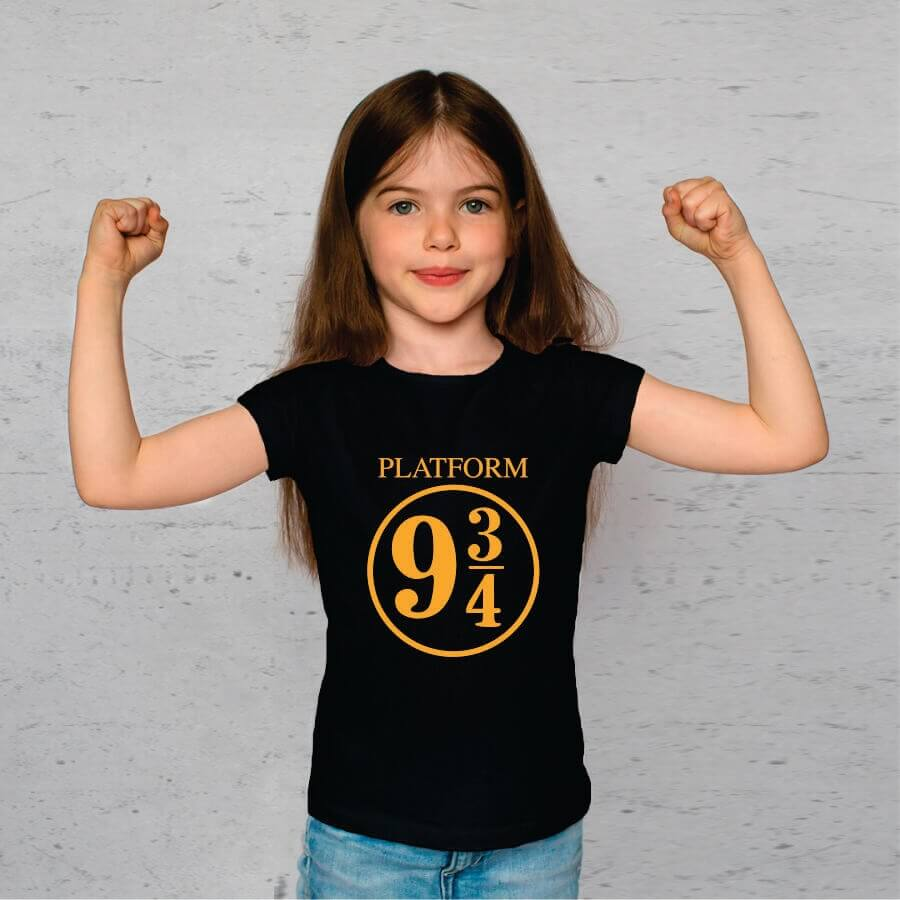 Camiseta INFANTIL Harry Potter Plataform 9 3 4