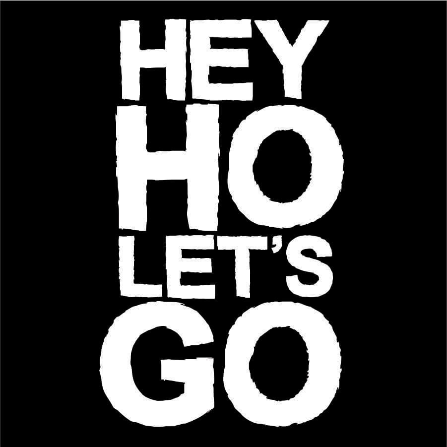 Camiseta INFANTIL Hey Ho Lets Go Ramones