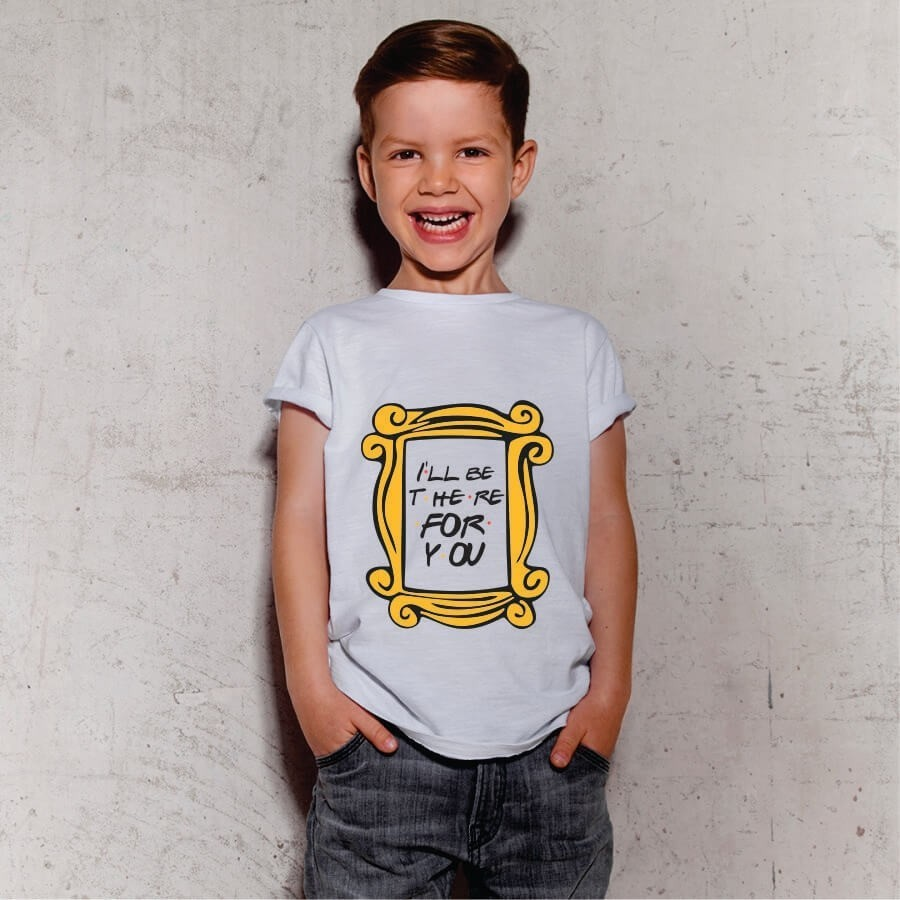 Camiseta INFANTIL Friends - I'll be there for you
