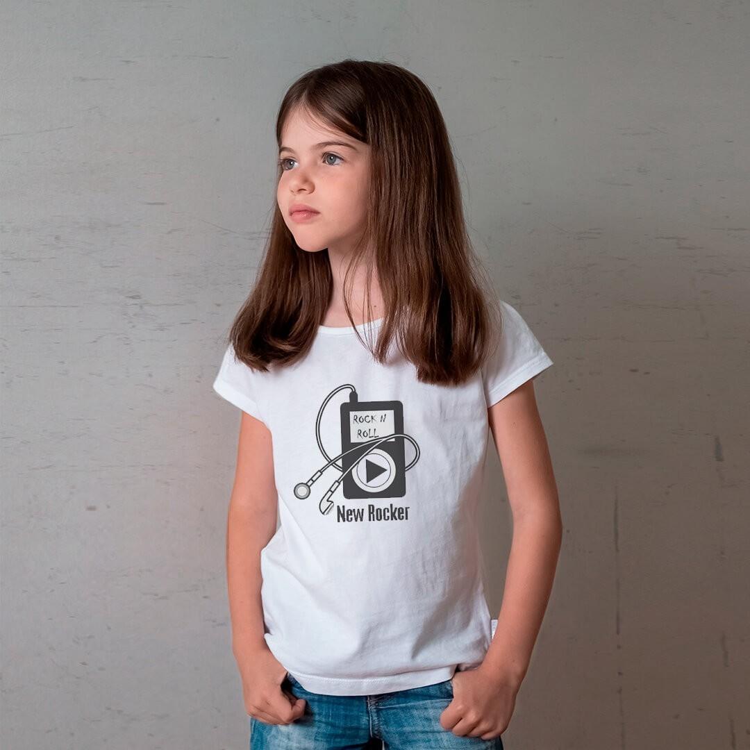 Camiseta INFANTIL IPOD FITA ROCKER MP3