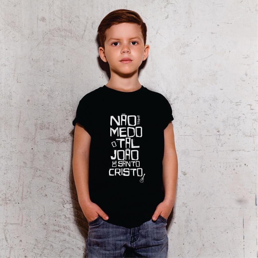 Camiseta INFANTIL Legião Urbana - João de Santo Cristo