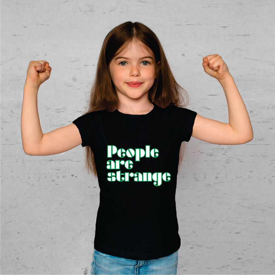 Camiseta INFANTIL People Are Strange The Doors