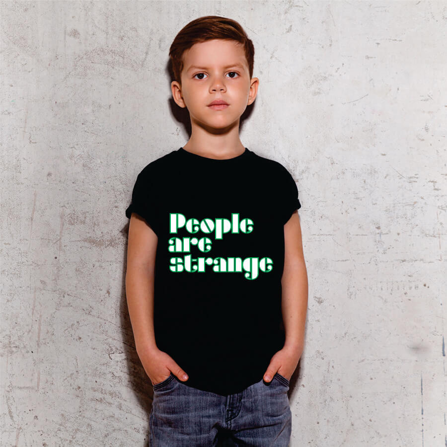 Camiseta INFANTIL People Are Strange The Doors