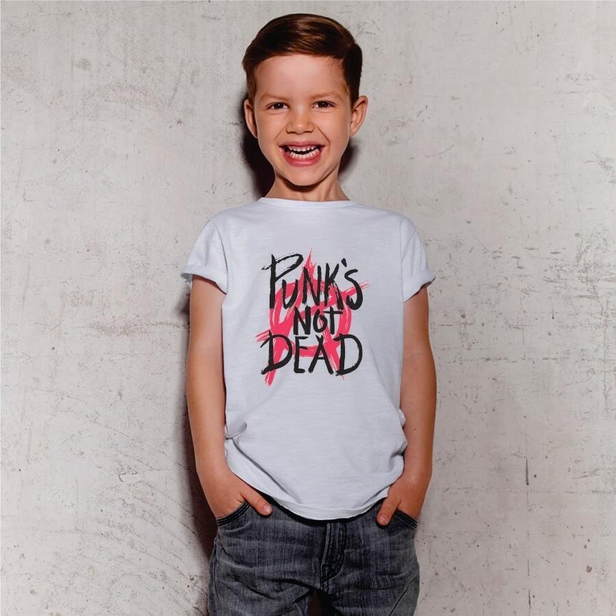 Camiseta INFANTIL Punks Not Dead